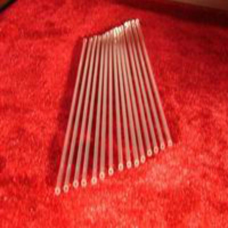 Кварц стекло выхлопная труба кварц пробирка волосы хорошо трубка высокая чистота трубка низкий гидроксил база трубка все виды электро-оптические источник специальный
