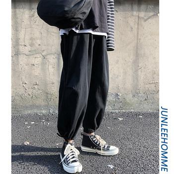 子俊男装夏季潮牌街头工装纯色长裤