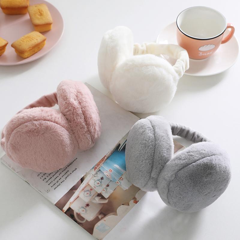韩版可爱耳罩保暖男耳包女冬汉堡耳套耳捂耳暖可折叠耳捂护耳朵罩图片