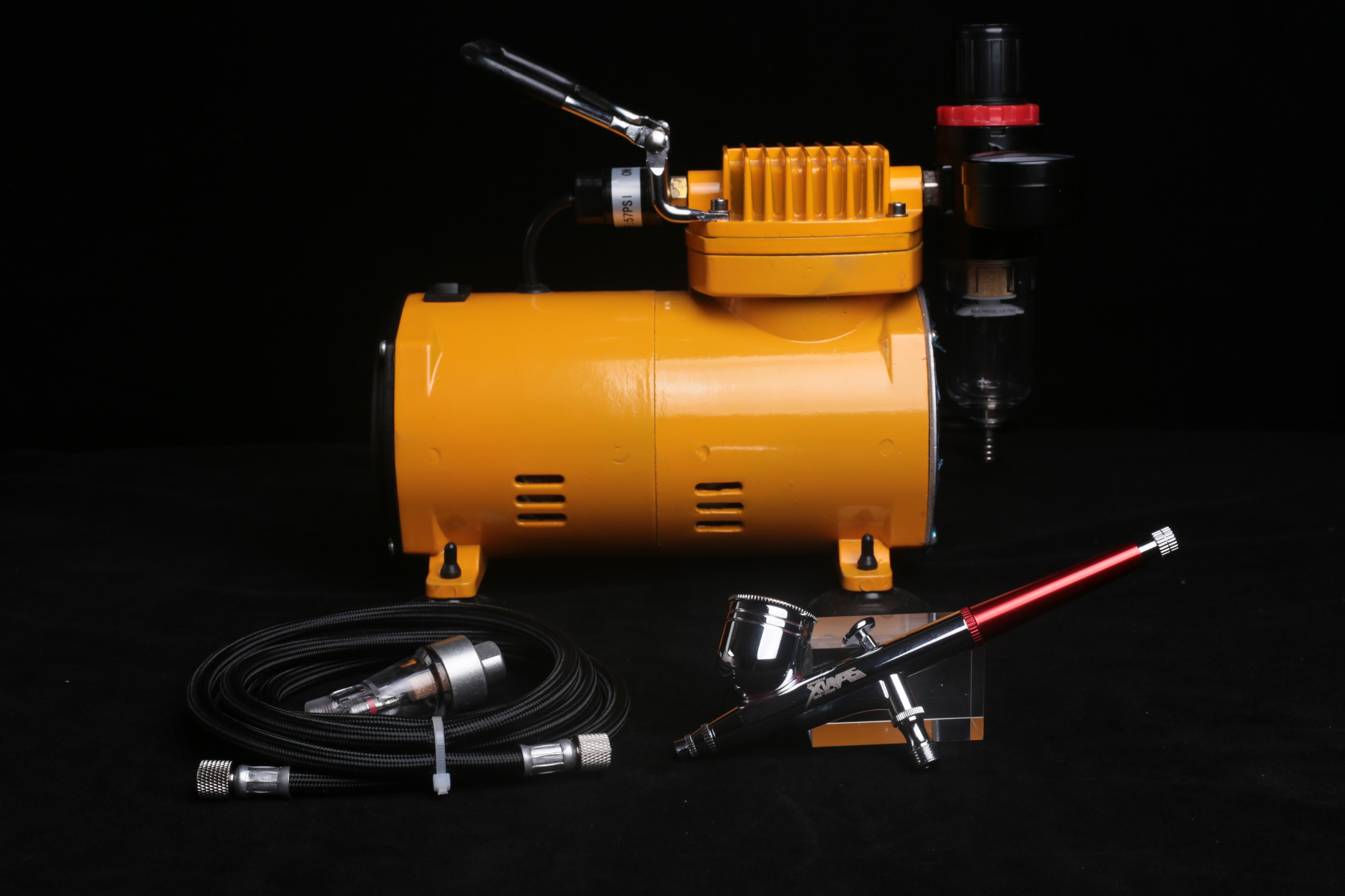 夏亚的模型小店  SP喷笔 0.3MM 优质雾化 喷涂工具 气泵套装图片