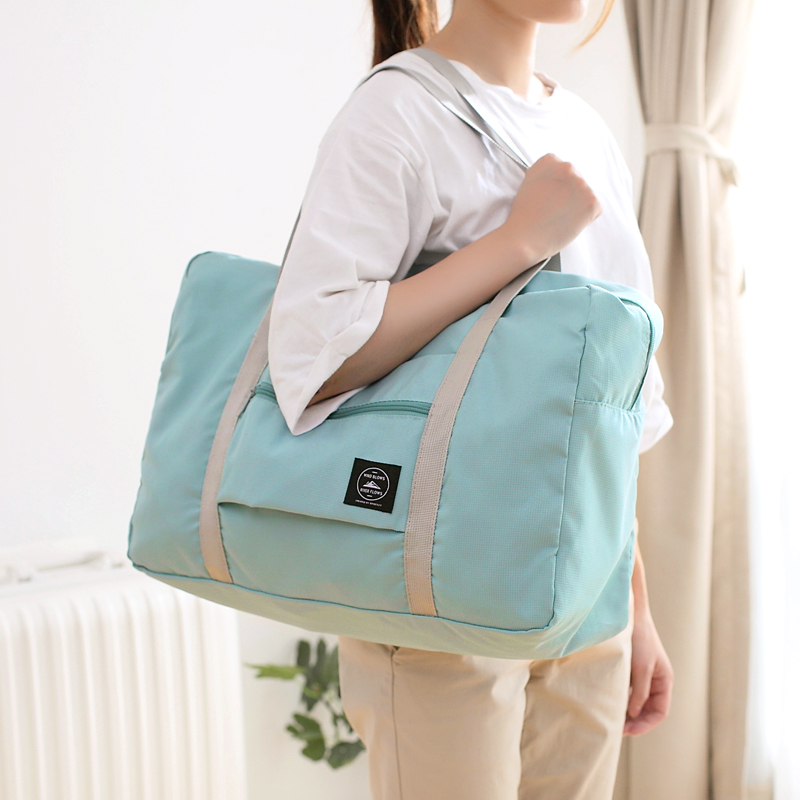Daily special price foldable short distance travel bag multifunctional portable shoulder bag shopping bag large capacity storage portable bag