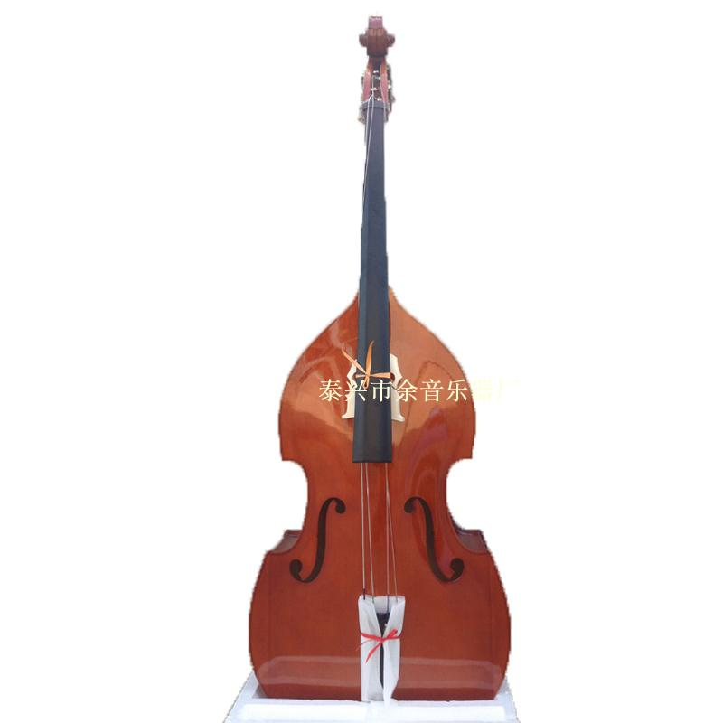 Тигровый тигр принт Цветок принт Наклеивает отдела раковины basswood высокого качества кожи beginner виолончели большого басовый для того чтобы напрактиковать представление оркестра для использования