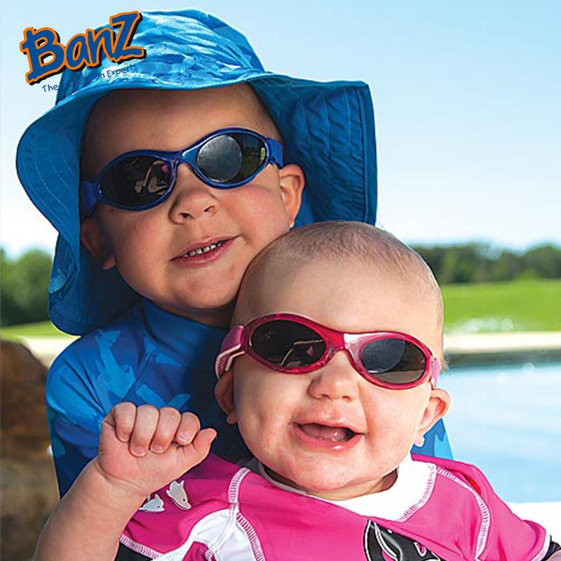 Baby Banz 婴幼儿防紫外线太阳镜探索系列保护视力带绳软胶