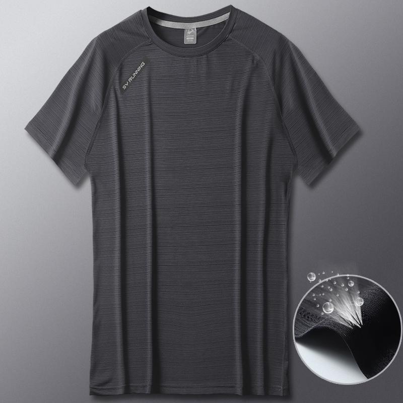 运动男短袖宽松冰丝透气夏季t恤49.00元包邮