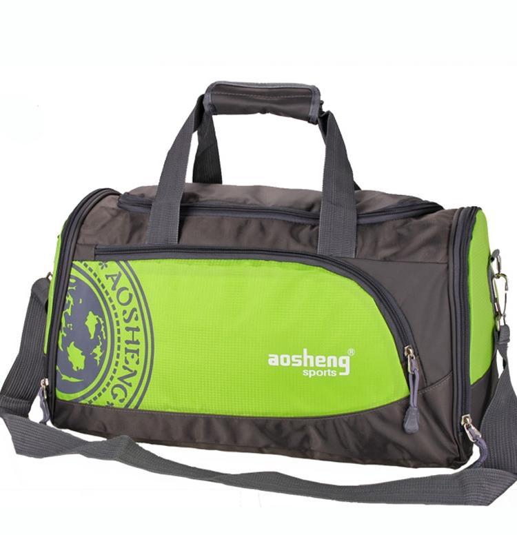 Custom made Single Shoulder Messenger travel bag mens luggage bag fashion independent shoes portable sports fitness bag womens custom logo
