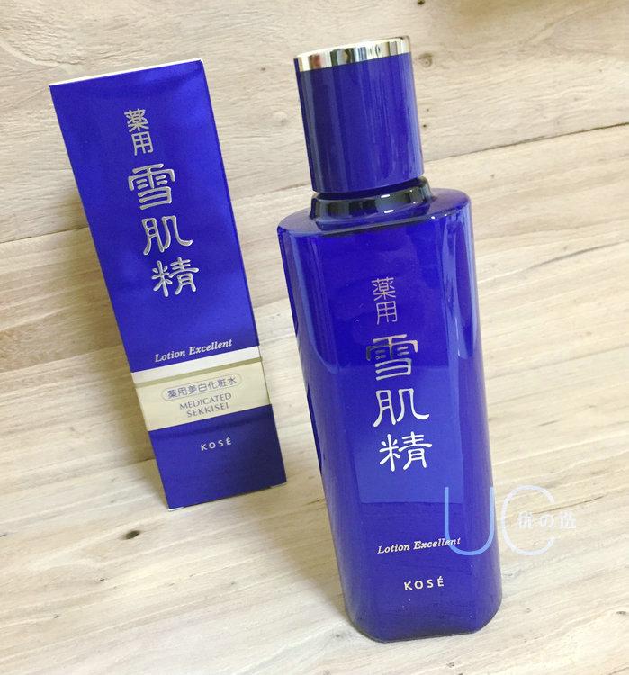 日本代购本土SEKKISEI雪肌精EXCELLENT美白保湿化妆水爽肤水200ml