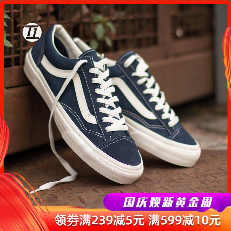 热销11件限时2件3折vans style36女鞋vans军绿蓝色男鞋