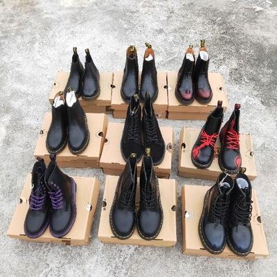 全新Dr. 马丁靴 1460经典款黑色厚底 雪地靴 工装鞋 男女靴