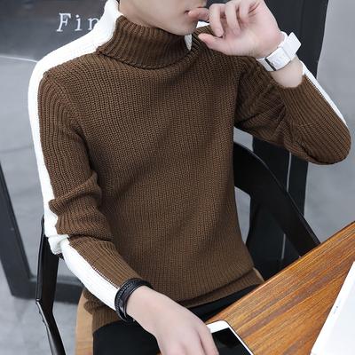 高转化双十二主推高领针织衫男士毛衣高领套头A309-MY911-P45