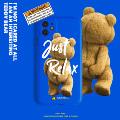 泰迪小熊苹果11pro韩国iphoneX/XR/XSMAX华为P30/40nova5软手机壳