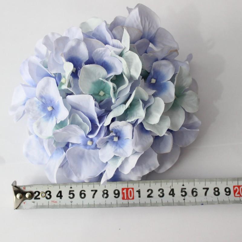 12色毛布绣球花头单个绢花假花仿真花 DIY花饰花材婚庆背景墙花墙