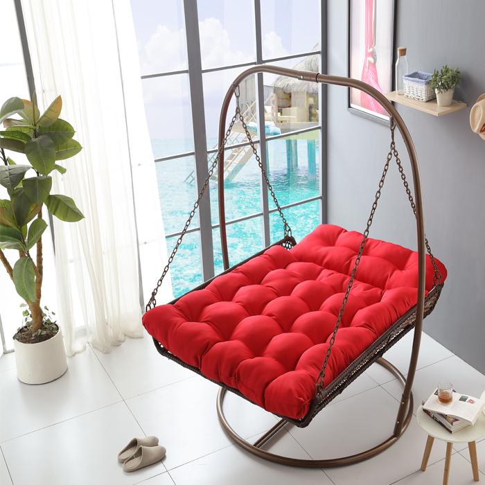 吊篮藤椅 成人室内吊床摇篮椅阳台藤编户外秋千架成双人吊椅北欧