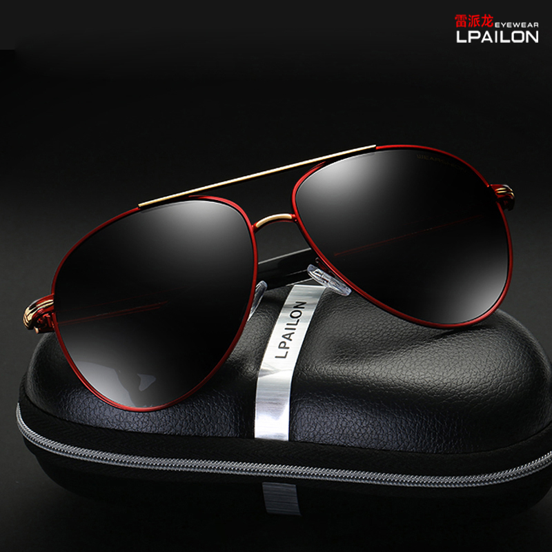 Polarized sunglasses male 2020 new air force Sunglasses driver toad glasses color Sunglasses pilot big face