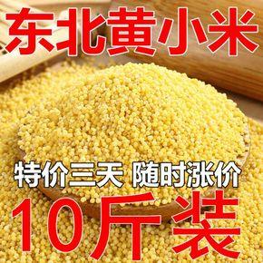 东北农家小黄米新米10斤 黄小米孕妇宝宝吃的小黄米粥月子米非5斤