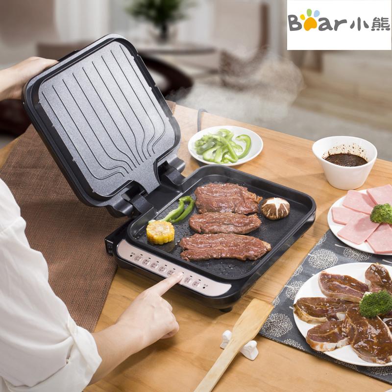 198.00元包邮Bear/小熊 DBC-B13A1电饼铛 双面 家用多功能全自动电饼铛正品