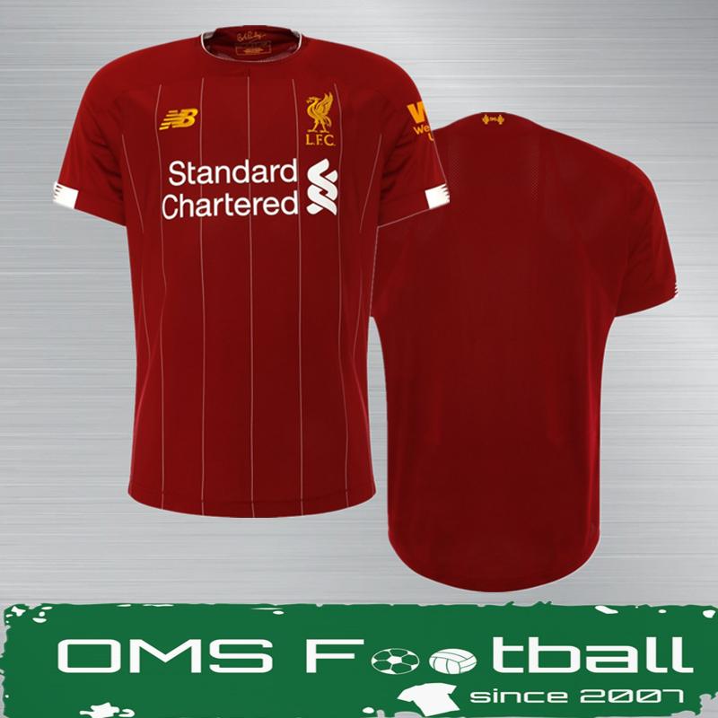 OMS正品球衣 10年老店 利物浦19-20赛季主场球衣1920(英超/欧冠)
