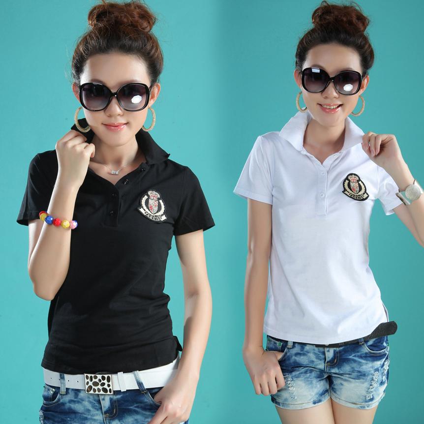 Extra fat mm oversized womens summer dress Korean version oversized Lapel professional thin Short Sleeve T-Shirt Top 200kg