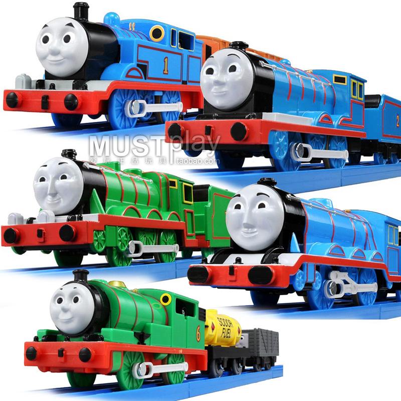 日本takara tomy多美TS电动小火车爱德华亨利培西男孩玩具火车