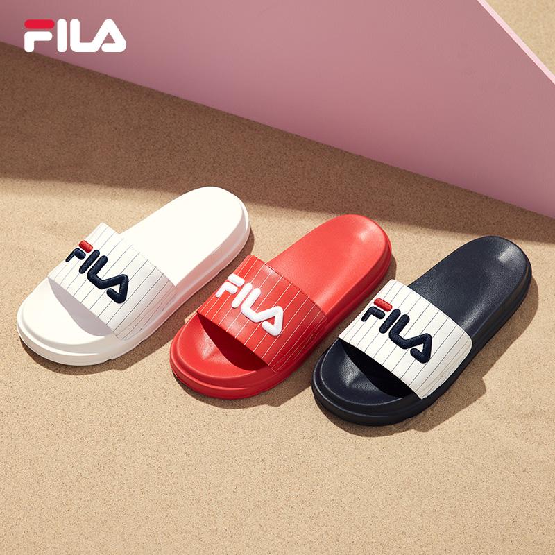 FILA 斐乐官方情侣男女运动拖鞋夏季新款厚底轻便凉拖鞋沙滩鞋