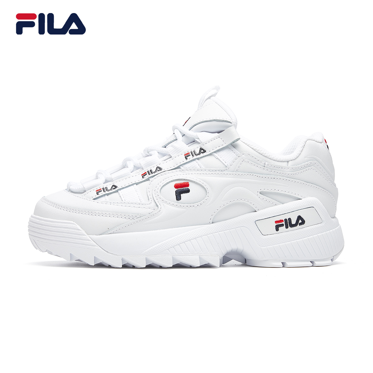 FILA Fila official retro old shoes women 2021 spring new casual sports shoes little monster women's shoes