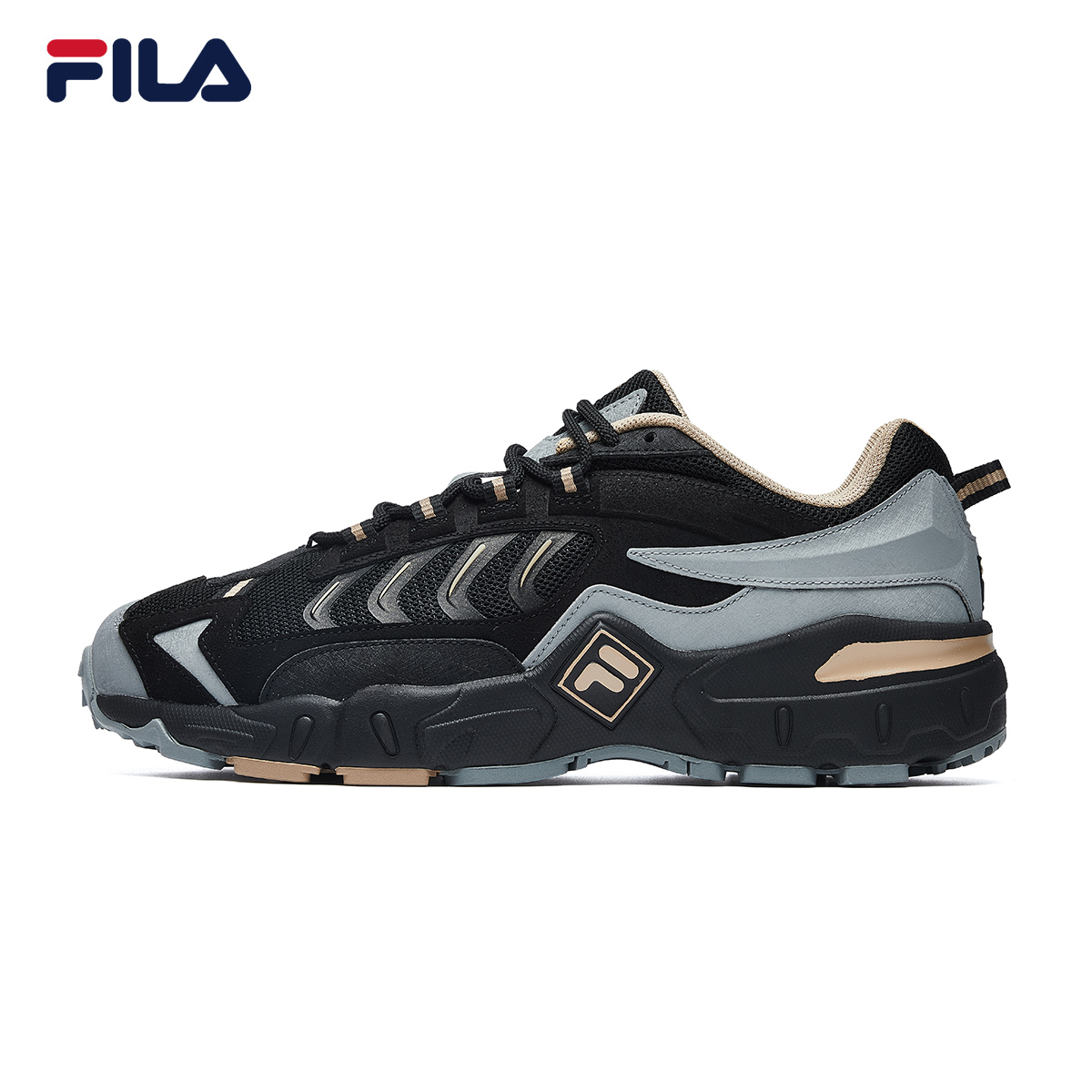 FILA Fila men's shoes old shoes 2021 spring new Huang Jingyu same paragraph men's sports shoes running shoes casual shoes