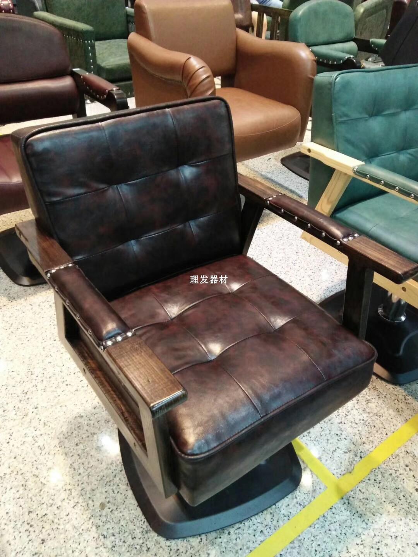 Парикмахерское кресло, парикмахерское кресло, массивная древесина высококачественный Стул для горячей резки винтаж Стул для стрижки винтаж спец. предложение новая коллекция