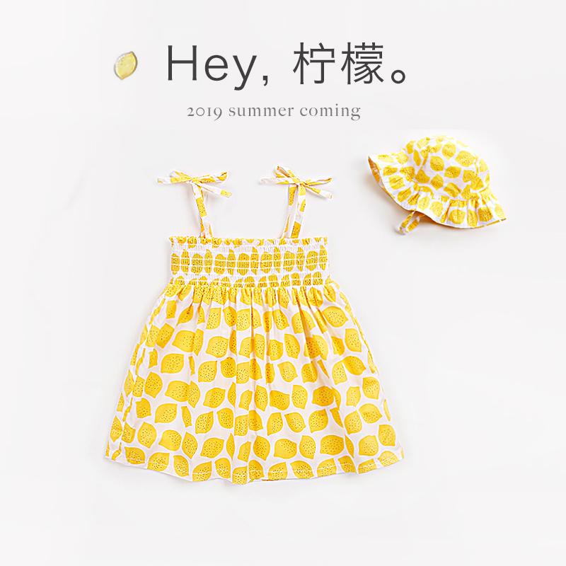童装女童夏装儿童裙子夏宝宝吊带裙婴儿连衣裙小女孩超洋气公主裙