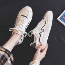 爆款运动小白鞋女2020年新款秋季百搭平底ins街拍潮鞋休闲板鞋子