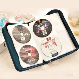超大号光碟收纳包128片装丝光布CD盒CD包家用VCD蓝光碟收纳盒图片