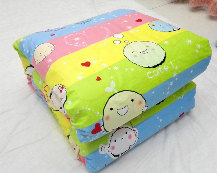 嬰兒寶寶兒童單獨床墊套被套墊褥套被單床單含拉鏈可拆洗純棉卡通