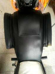 铃木GN125豪HJ125-8通用摩托车油箱套小太子骑士包防水耐磨罩
