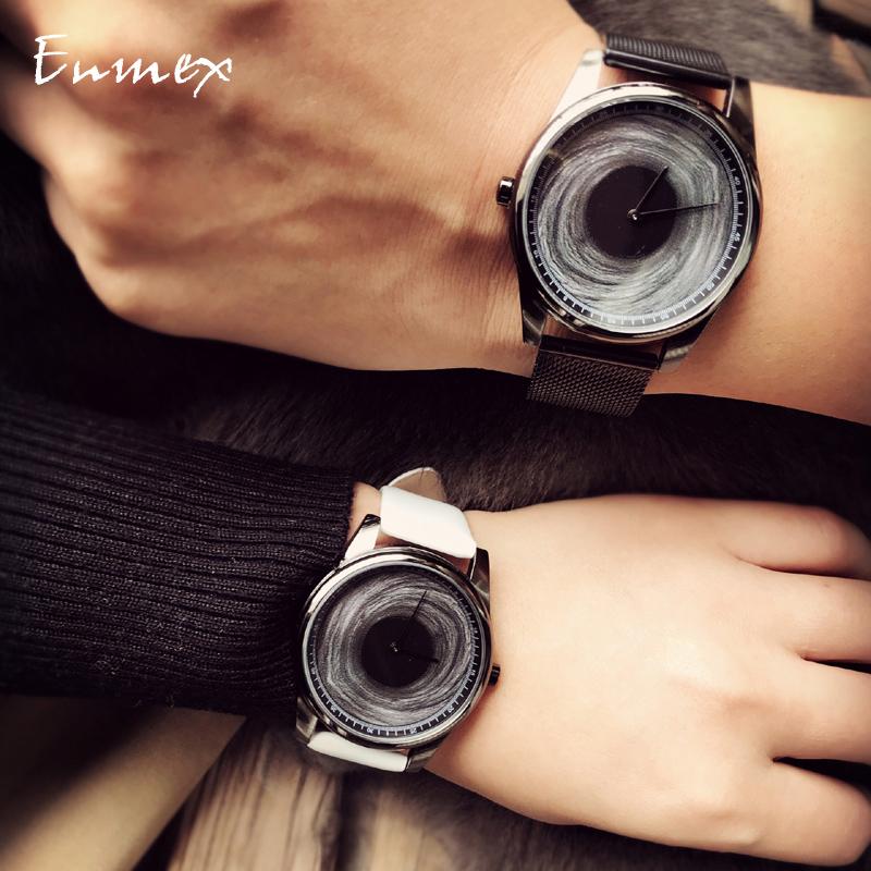 Holiday gift translation enmex three-dimensional pen cagantuya creative design black hole concept tonal Watch