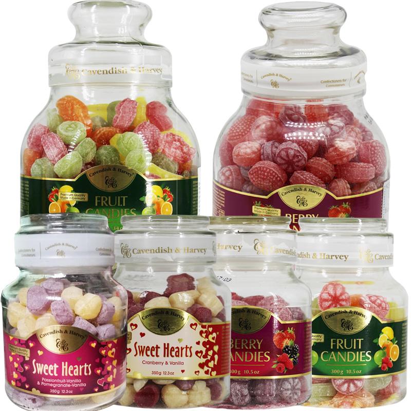 Imported Jiayun candy German Jiayun fruit candy hard candy bottled mixed candy children girls gift box net red snacks