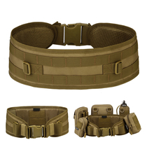Free Knight Outdoor Molle Magic Sticker Waist Seal Military fan tactical Camouflage belt multifunctional patrol wide belt
