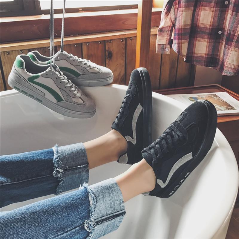Весна лес угол тенденция кружево низкий обувь молодежь красивый обувь корейский студент ретро обувь casual мужской