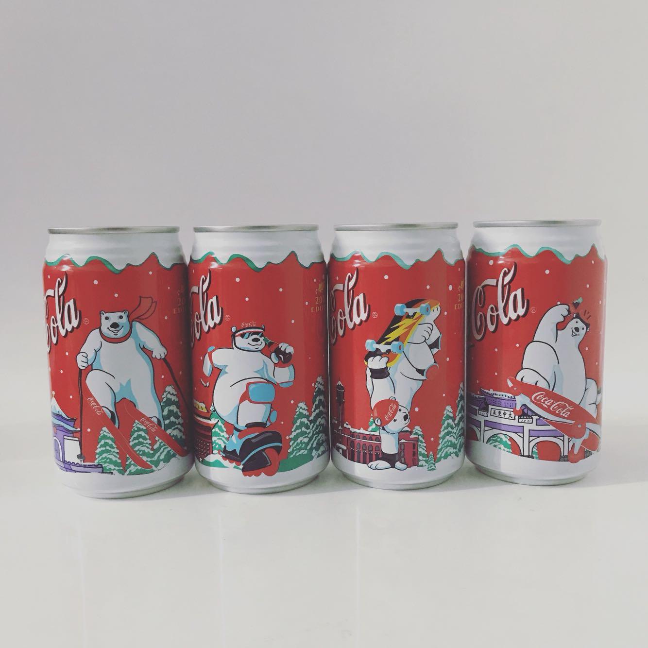 2002 Рождество Тайвань Кока-кола Мемориальный ящик