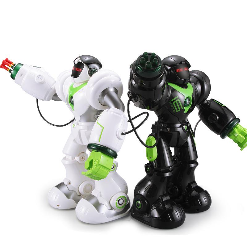 盈佳新威爾機械戰警 智能遙控機器人 電動機器人 兒童玩具男孩