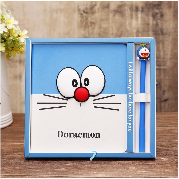 新しいアイデアの学生ノートは、猫の青いデブノートのメモ帳zaka学生ギフトボックスです。