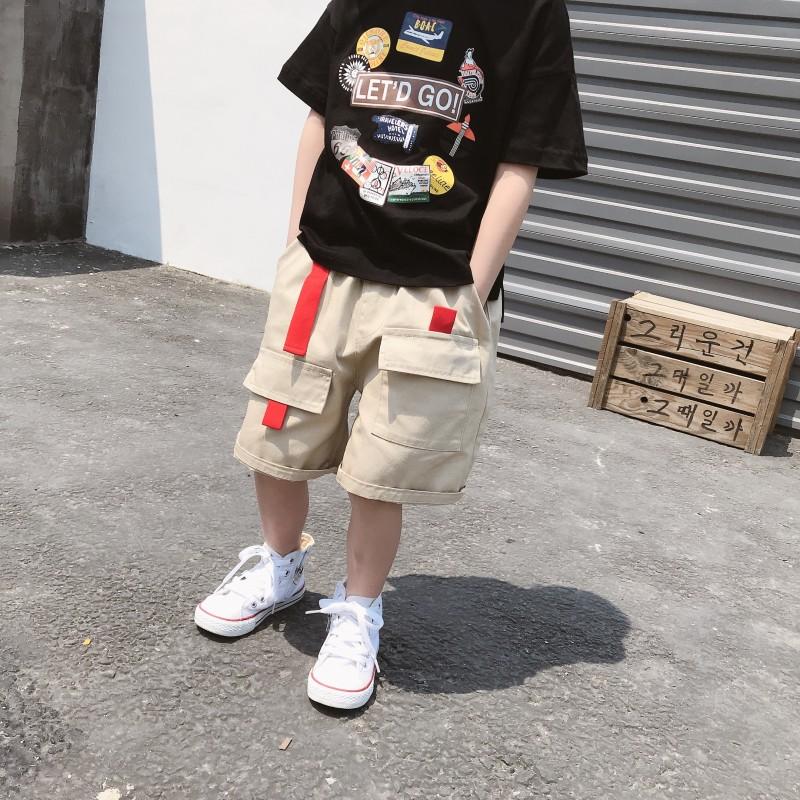 2019新款男童工装短裤夏季潮休闲裤(用26元券)