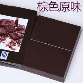 巧克力喷泉机专用固体巧克力 块状巧克力 手工巧克力 巧克力原料
