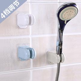 家用花洒座免打孔吸盘式淋雨喷头支架浴室莲蓬头软管淋浴底座配件图片