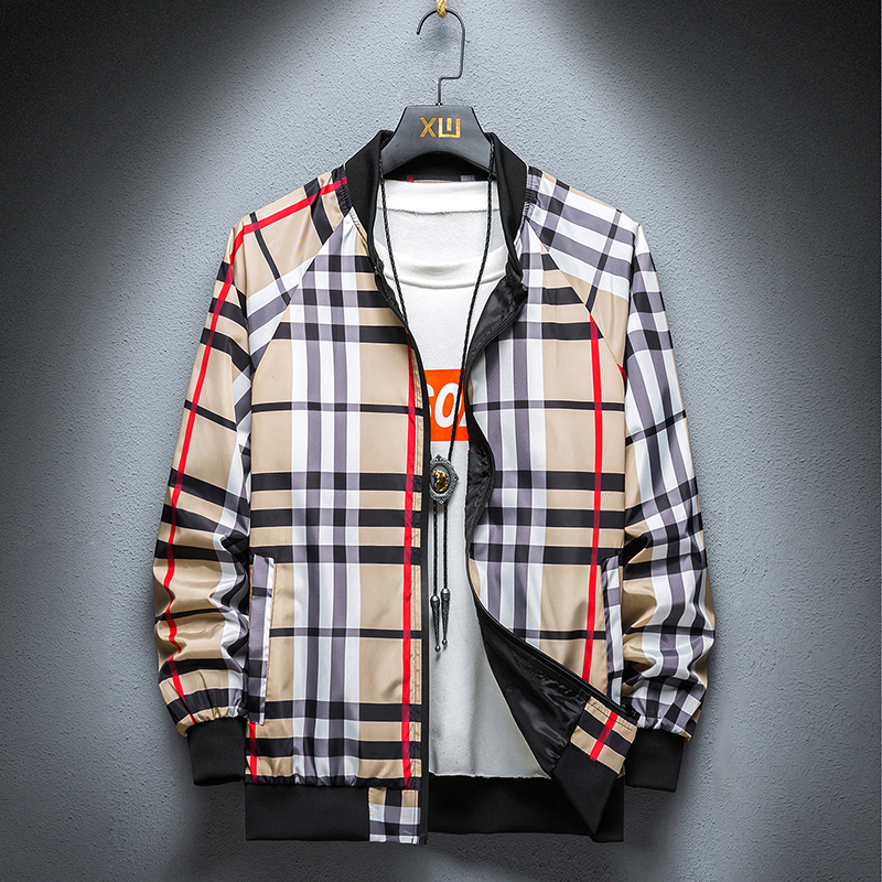 2021 spring new Kwai jacket, male fashion, Korean style casual, quick hand, slim student, handsome, simple, and hooded jacket.