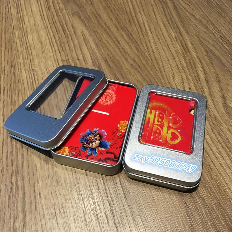 卡片式4gu盘商务礼品批量定制logo公司婚庆名片式4GB优盘招标定做有赠品