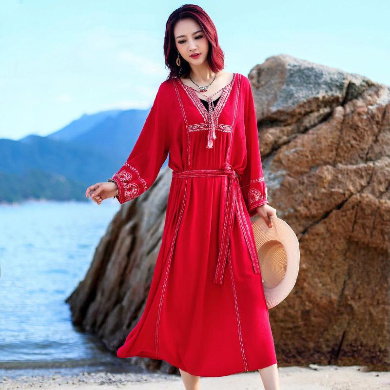 Bali travel clothes Chaka Salt Lake skirt beach skirt Sanya seaside holiday dress beach skirt