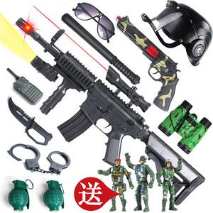 儿童玩具枪 发声发光冲锋枪电动玩具手枪小男孩玩具狙击枪机关枪