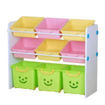 Alice Iris Childrens toy storage Rack Bookshelf Storage Rack Alice Toy Rack living room Finishing Rack