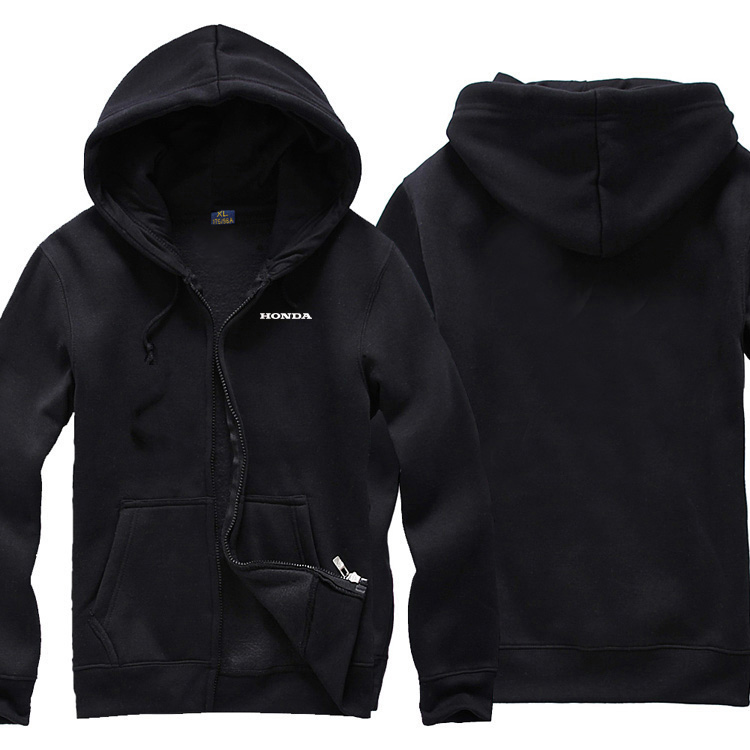 Cycling suit mens cardigan coat with cap zipper sweater package