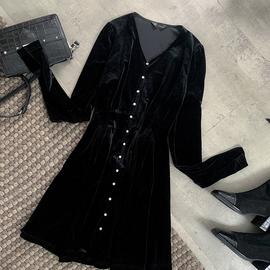薇娅viya定制连衣裙 CSS007193图片