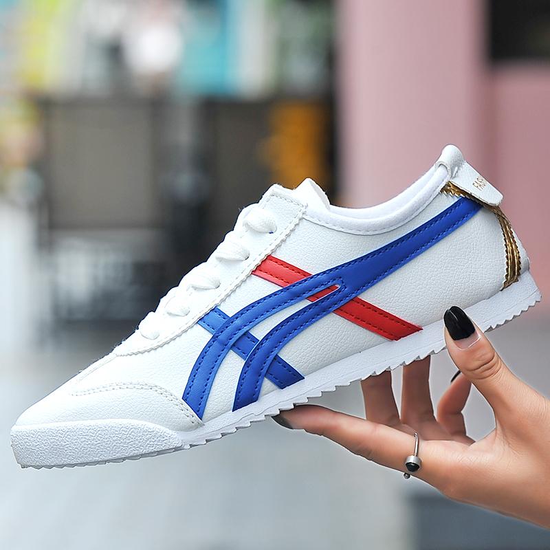 2018夏季新款小白鞋女鞋韩版百搭透气平底女学生情侣白鞋运动板鞋