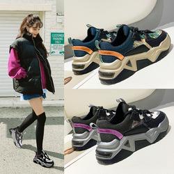 【杰夫定制】巨巨巨好穿~韩国ins老爹鞋女2020韩版网红加绒女鞋